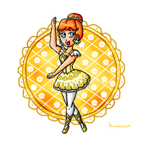 Daisy ballerina remaster by ninpeachlover