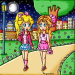 Girls night by ninpeachlover