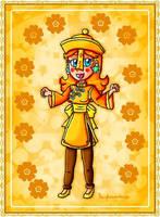 Jiangshi Daisy by ninpeachlover