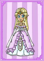 AT-TDS Zelda by ninpeachlover