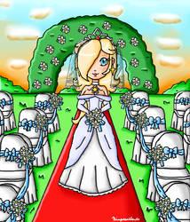 Wedding Rosalina by ninpeachlover