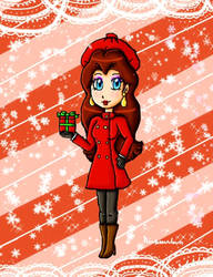 Pauline gift by ninpeachlover