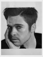 Brad Pitt by caneker