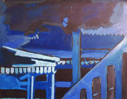 Blue Station by BikerDA