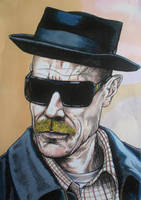 Walter White (Breaking Bad) AKA Heisenberg color by BikerDA