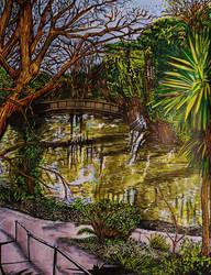 Riverside Walk (Colour version) by BikerDA