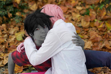 Marshall Lee and Gumball (cosplay) by BakanekiLevi