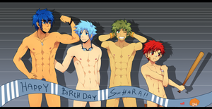 HAPPY BIRTHDAY SUIHARA by MikkouKun