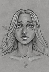 Grey Sketch Illustration by punchyone