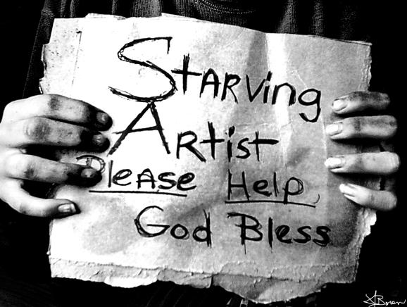 Starving Artist by EbonyLace