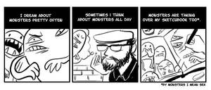 Monsters by Uncle-White