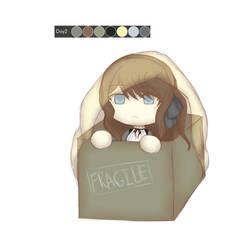 Huevember Day 2: Fragile in a box by tashaj4de