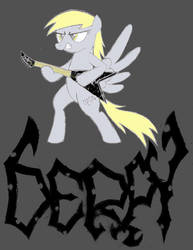 Death Metal Derpy by FriendshipIsMetal777