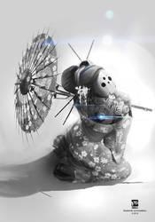 Geisha-mech by psdeluxe