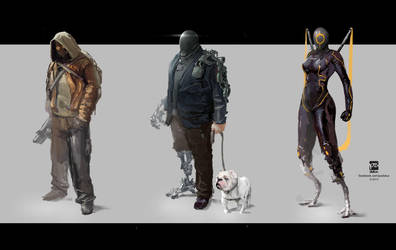 Character ConceptArt by psdeluxe