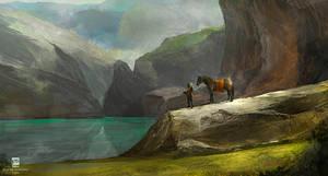 Landscape by psdeluxe