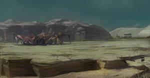Desert Base by psdeluxe
