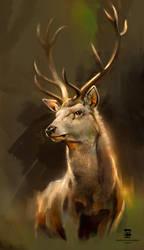 20160715 Deer Psdelux by psdeluxe