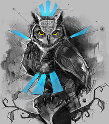 20170919 Owl Psdelux by psdeluxe