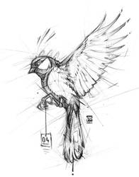 20171104 Bird Psdelux by psdeluxe