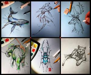 2018 Junius Sketches Psdelux by psdeluxe