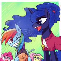 Trainer Luna by keterok