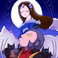 Howl at the Moon by keterok