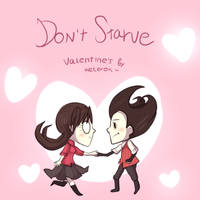 Don't Starve Valentines~ by keterok