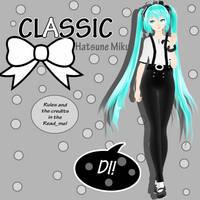 :.TDA CLASSIC -Hatsune Miku |DL! .: by Zefyyr