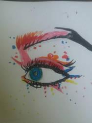 Eye by Draconic-Artist