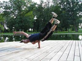 Breakdance Posing by MINORITYmaN