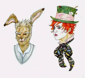 Hare Hoppus Hatter Wentz by Seraph5