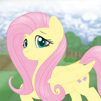 Fluttershy - simple by SallemCat