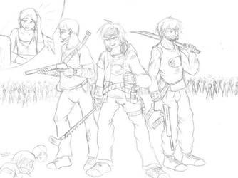Zombiesssss by LegendaryWatermelon