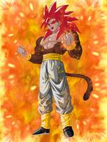 Super Saiyan 4 God Goku by EliteSaiyanWarrior