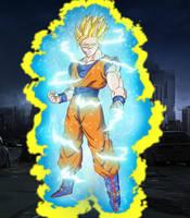 Super Saiyan Rage Gohan by EliteSaiyanWarrior