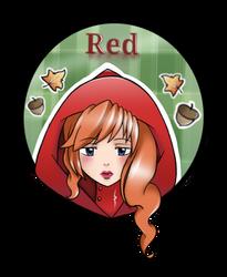 Red for Bunneahmunkeah by WasabiFox