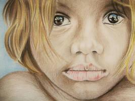 Little girl by viki941116