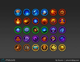 Game Icon - Talent skill by yshumin