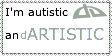 Autism Stamp by DyingInMySkin