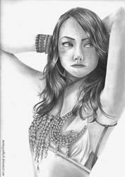Emma Stone by montageofheck