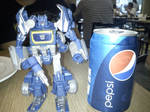 Soundwave and Pepsi by ShadowStalker1217