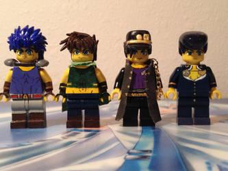 LEGO JoJo's by DarkLeafNinja
