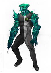 A more realistic depiction - Diamondhead by leonardovincent