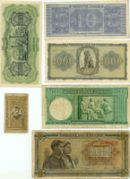 antique national note by epitomei-stock