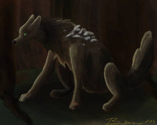 Botolf the Stone Wolf by Braweria