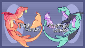 Ocean Cutie Adopts! [[SOLD]] by Omega-Fluff