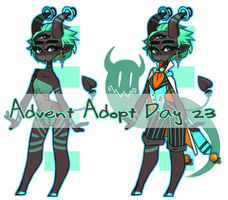 Halloween Advent Adopt :: Day 23 by Omega-Fluff