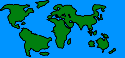 Steven Universe Map Drawn By Idrawcountryballs On Deviantart