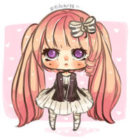 Anneliese -- Point Comission by kahwiichan